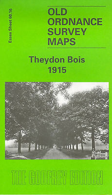 Old Ordnance Survey Map Theydon Bois 1915