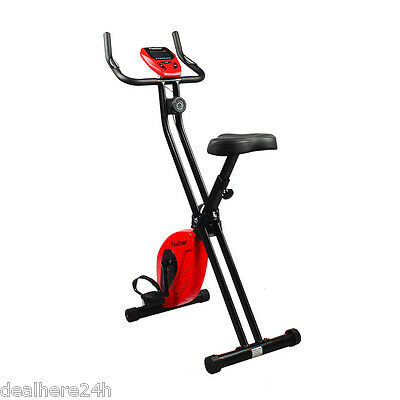 Foldable Magnetic Exercise Cardio Bike Home Gym Workout Aerobic Fitness Machine