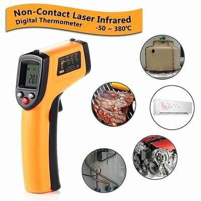 Digital Temperature Gun Meter Laser Infrared IR Thermometer Kitchen Outdoor NEW