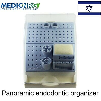 Dental Endodontic Autoclave Safe Case Plastic Organaizer Stand Drills And Files