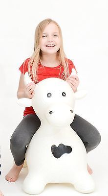 Sam Happy Hopperz Large Cow Horse Animals Adult Children Kids Retro Bull Toy New