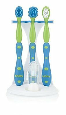 Nuby 4 Stage Oral Care Set System Colors May Vary