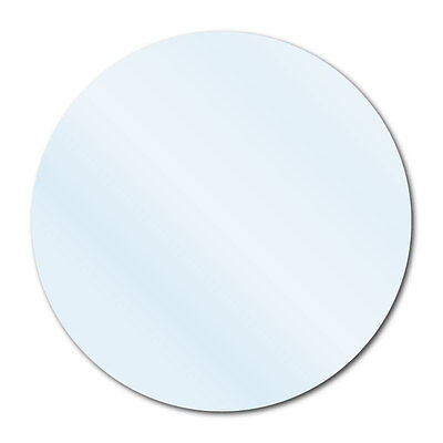 """3/4"""" Crystal Clear Round Packaging Seal Labels, Permanent, Roll of 5,000 Labels"""