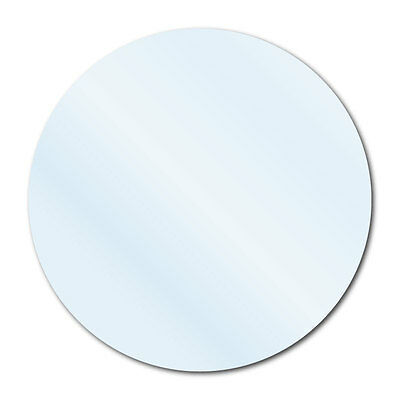 """3/4"""" Crystal Clear Round Packaging Seal Labels, Permanent, Roll of 500 Labels"""