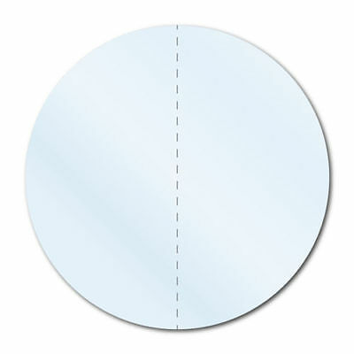 """3/4"""" Crystal Clear Round Packaging Perforated Permanent, Roll of 1,000 Labels"""