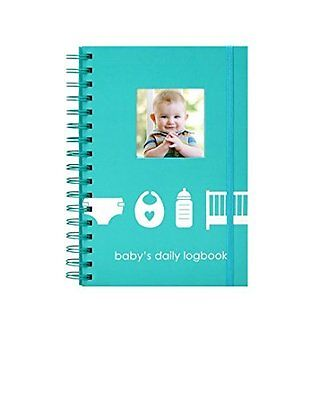 """Pearhead Babys Daily Log Book """"Track and Monitor Your Newborns Schedule"""""""