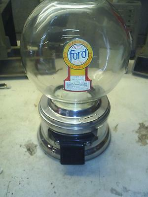 OLD Nice FORD GUMBALL MACHINE With  FREE ford GUMBALLS 1965's