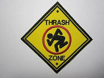 D.R.I. Thrash Zone embroidered NEW patch thrash metal