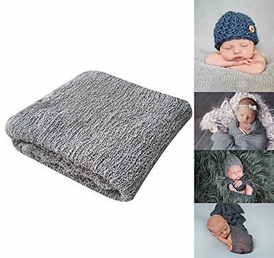 Bassion Newborn Photography Props Newborn Wraps Baby Props Photo Blanket #3AC