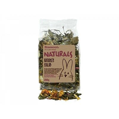 Rosewood Naturals Small Animals Natures Salad 200g
