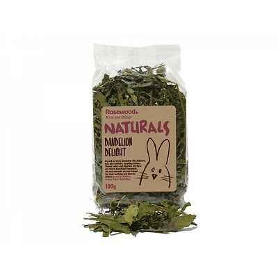 Rosewood Naturals Small Animals Dandelion Delight 100g