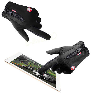 Winter Men Sport Ski Touch Screen Gloves Riding Glove Motorcycle Gloves Warm