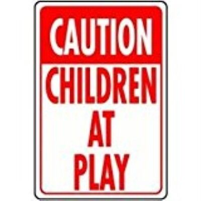 "HY-KO PROD Child At Play Sign, 12"" x 18"" (HW-7)"