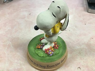 Hallmark PEANUTS GALLERY Snoopy & woodstock-Happiness is a hug from the heart