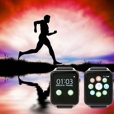 GT88 NFC Bluetooth Smart Watch Pedometer Music Phone mate For iphone Android IOS