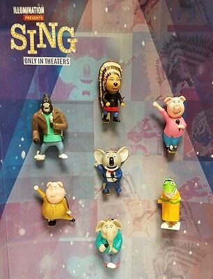McDonald's 2016 SING - Pick your toy  - BUY 2 GET 1 FREE - FREE SHIPPING