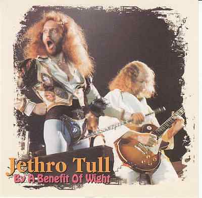 JETHRO TULL BY A BENEFIT OF WIGHT 8/30/1970  ISLE OF Original CD VG+/NM-