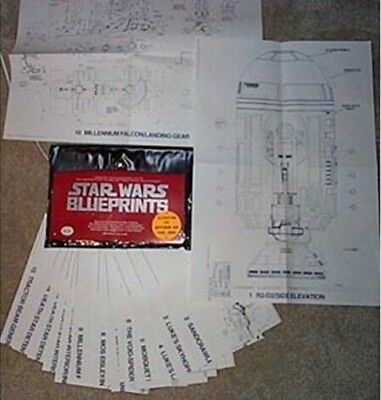 Classic Star Wars Original 1977 Blueprints Ballantine Books NEAR MINT NEW UNUSED