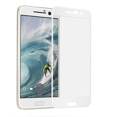 Premium Tempered Glass 9H Full Cover Screen Protector Protective Film For HTC 10