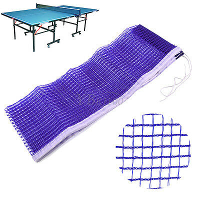 Blue Durable Table Tennis Ping Pong Net Replacement Mesh Sports Traning 172cm