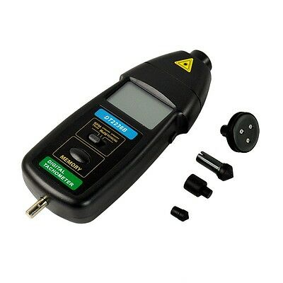 Non Contact Contactless DT2236B 2in1 RPM Laser Photo Digital LCD Tachometer