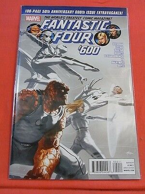 FANTASTIC FOUR #600 - 100 page 50th Anniversary .! - 1st PRINT