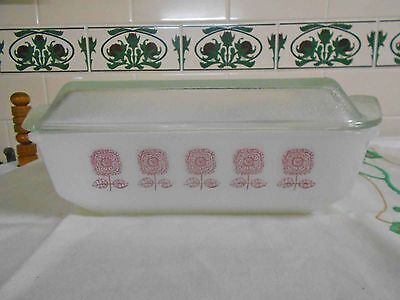 Vintage Pyrex, CROWN  'SPANISH' – 4 pint oblong casserole - GREAT CONDITION