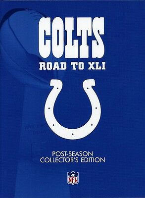 NFL Indianapolis Colts Road to XII [4 Discs] (2007, DVD NUEVO) (REGION 1)