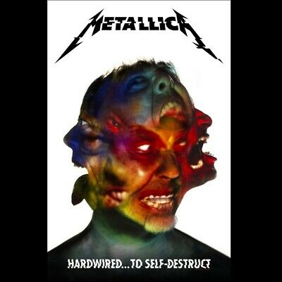 Metallica Hardwired To Self Destruct Poster Flag Officl Fabric Textile Banner
