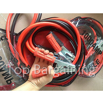 Heavy Duty Quality 1000 AMP Car Van Jump Leads 3m Booster Cables