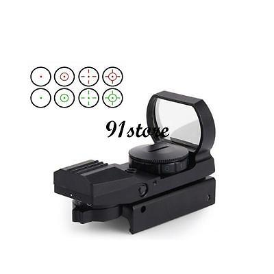 Red/Green Dot Holographic 1x22x33 Optical Sight Scope For Gun Airsoft Pistol SR
