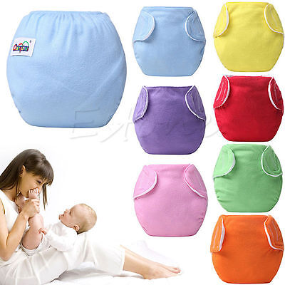 Baby Newborn Diapers Cover Adjustable Reusable Washable Nappies Cloth Wrap