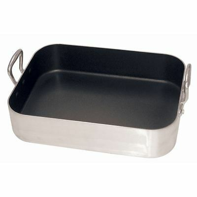 Vogue Non-Stick Roasting Pan 440x 302x 135mm Aluminium Baking Oven Tray