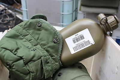 1 Qt Canteen & Cover W/ Purifier Pocket Alice Clips  Molle Adapter Anti Drip Cap