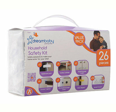 Dreambaby Household Safety 26 Piece Kit F76644 - NEW