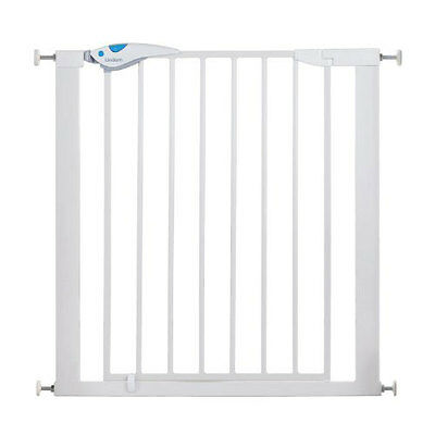 Lindam Easy Fit Plus Deluxe Baby Safety Stair Gate - Pressure Fit - White - NEW