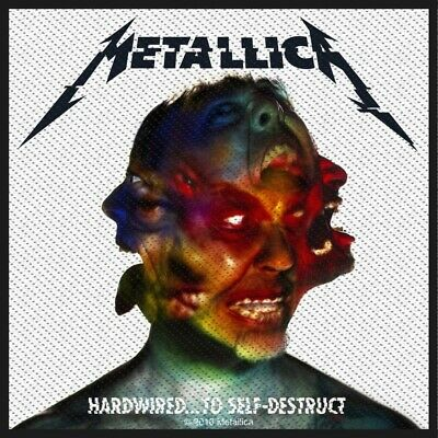 Metallica Hardwired To Self Destruct Patch Official Heavy Metal Band Merch New