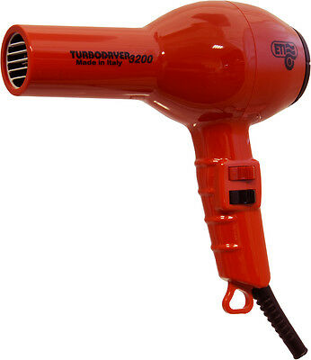 ETI 3200 Hairdryer Professional Powerful Salon Turbodryer *NEW* - RED