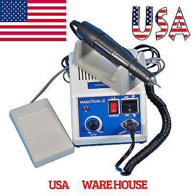 USA Dental Lab Electric Marathon Polishing Micromotor N3 35K RPM Motor Handpiece