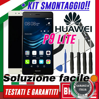 Lcd+Touch Screen Originale Huawei P9 Lite Display Schermo Vetro Vns-L31 L23 +Kit