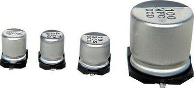 47uF 16V SMD electrolytic capacitor - pack of 10