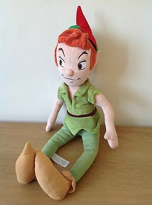 The Disney Store. Peter Pan. Plush Soft Toy