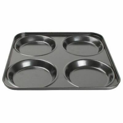 Vogue Non-Stick Yorkshire Pudding Tray Carbon Steel Baking Pan Mould Bakeware