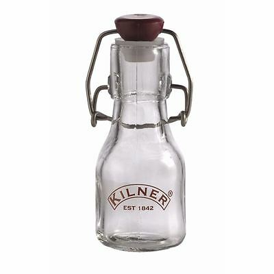 Kilner Swing Top Preserve Bottle 70ml Glass Oil Storage Clip Tops Airtight