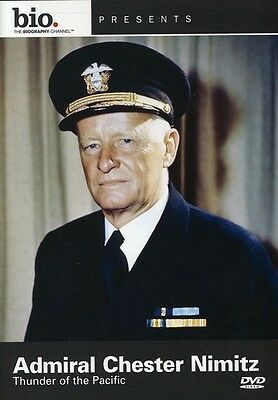 Biography: Admiral Chester Nimitz: Thunder of the Pacifi (2008, DVD  (REGIONE 0)