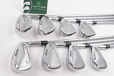 Mizuno Mp-64 Forged Irons / 3-Pw / Stiff Kbs Tour Steel Shafts / 54394