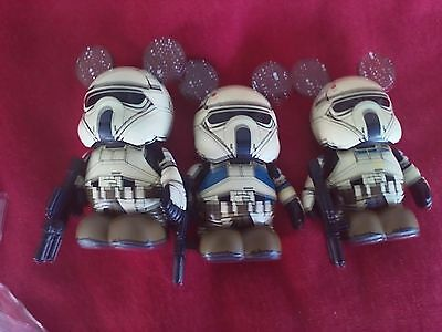 Vinylmation Rogue One: A Star Wars Story Eachez Variants and Common Set of 3 LR