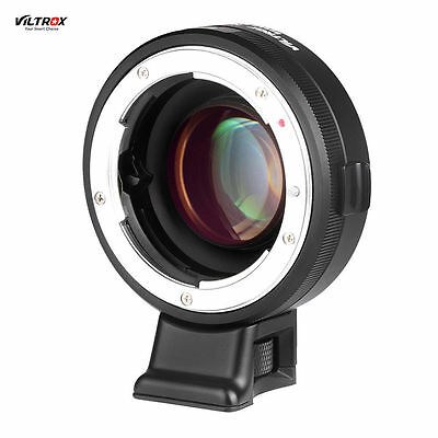 Nikon F Lens to Sony NEX A7R/S Viltrox Manual Focus Speed Booster Adapter NF-E