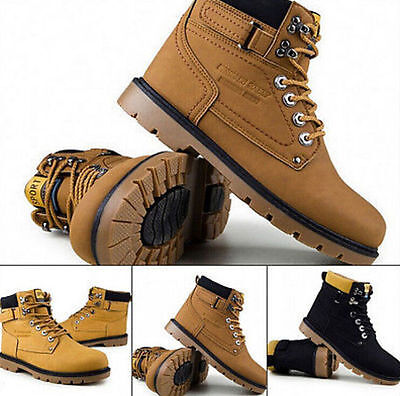 HOT ! NEW Men's Shoes Fashion Leather Shoe Casual High Top Sneakers Shoes