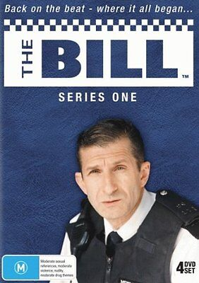 THE BILL : ITV SERIES 1  - DVD - UK Compatible -Sealed (4 disc)